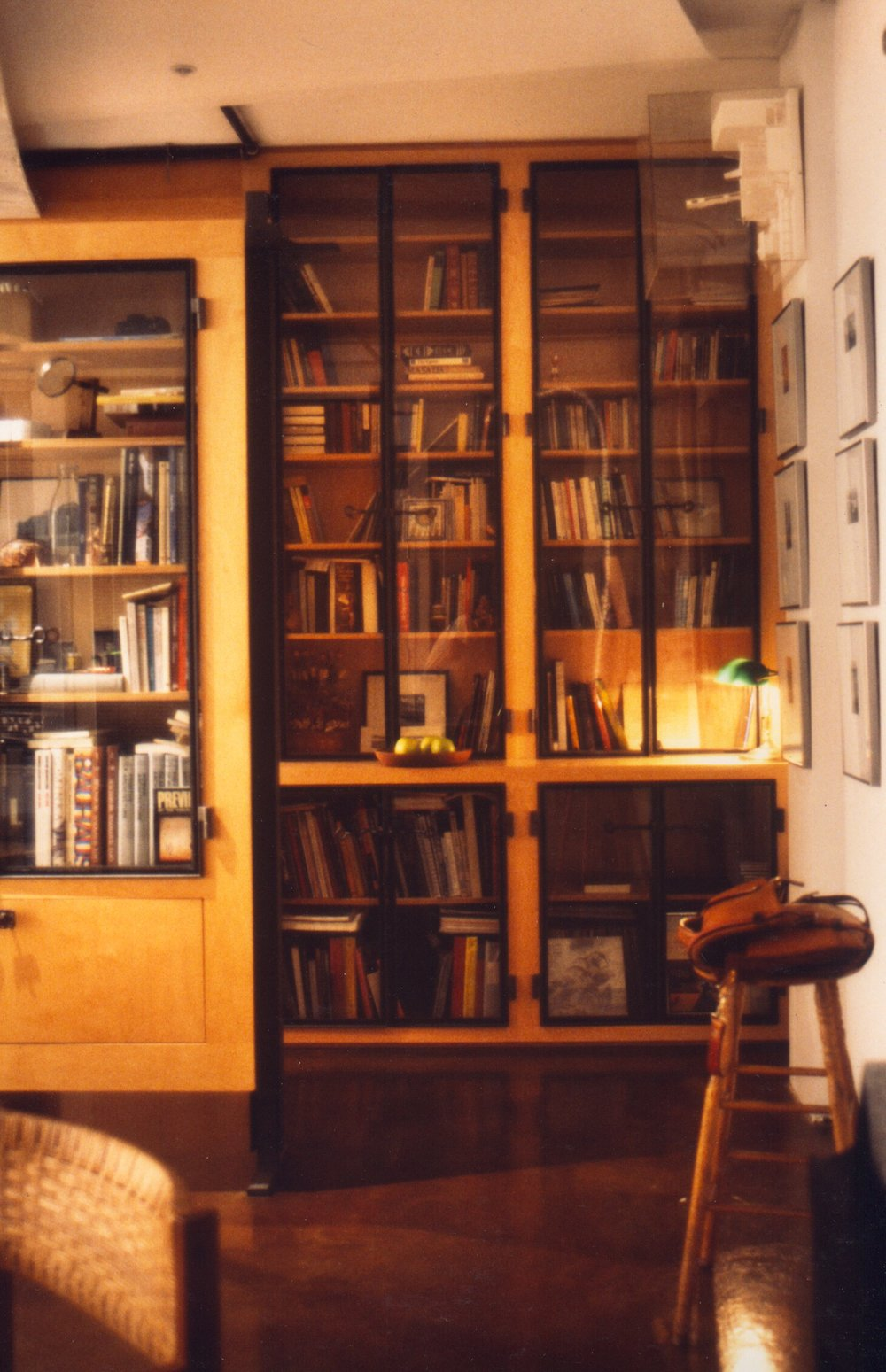 View of Kitchen Library  Exhibit Wall.jpg