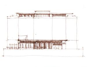 Edmonton Federal Building & Centennial Plaza VH concept study