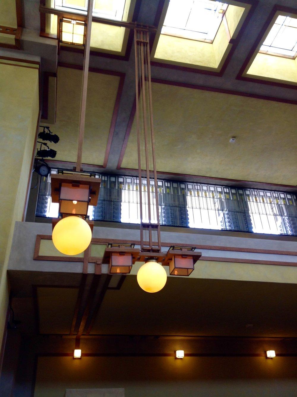 Sanctuary lighting