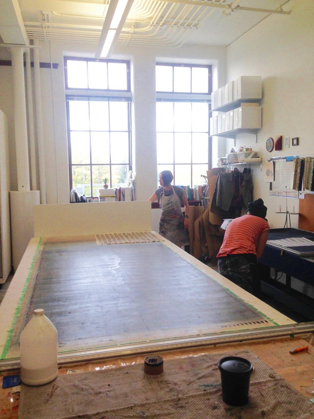 Natalie (by the window) of Natalie Gerber Studio