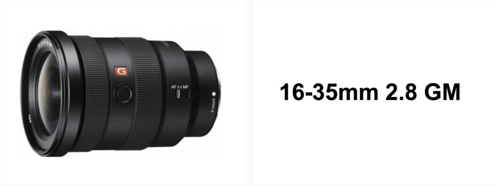 Sony 16-35 f2.8 GM