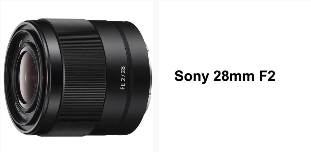 Sony 28 f2
