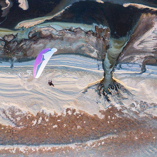 Flying over the salton sea // @benhortonphoto