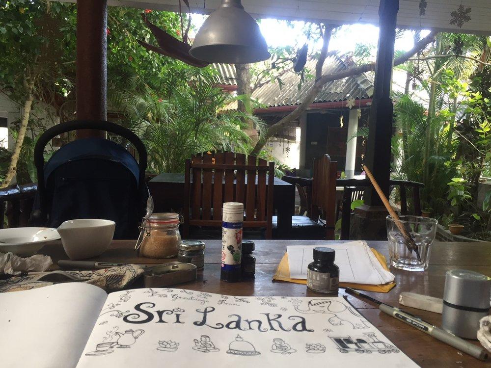 Favourite cafe in Unawatuna