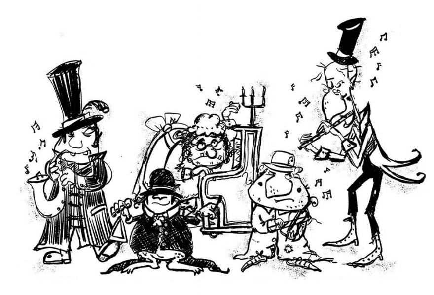 Grusome musicians
