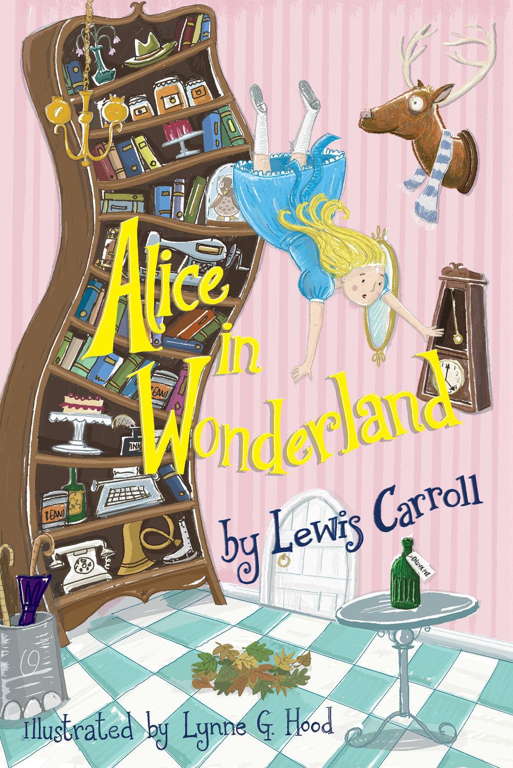 Alice in Wonderland cover design