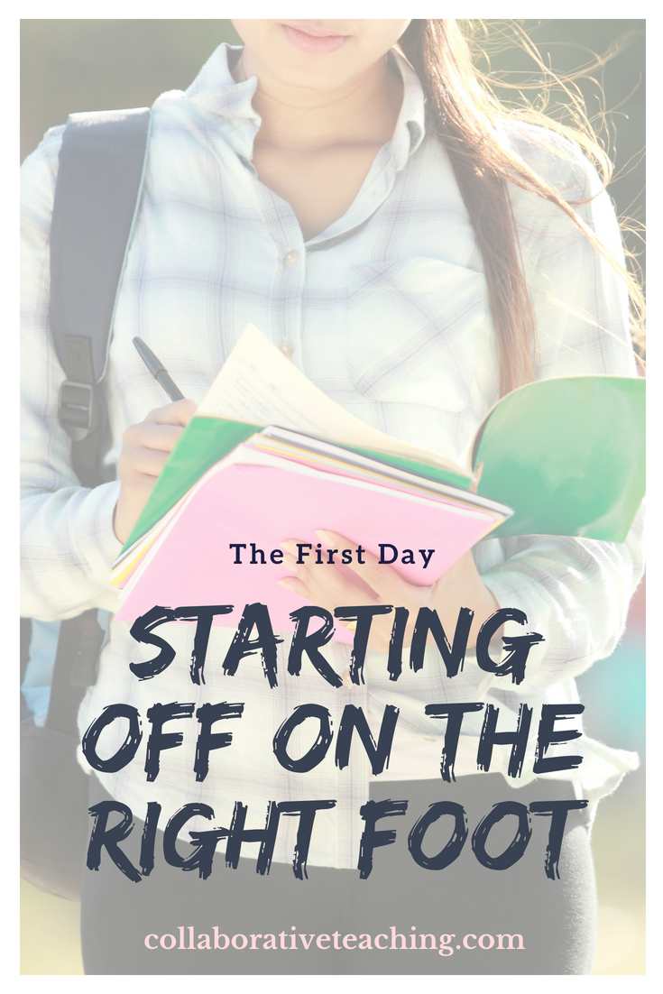 Collaborative Teaching Episode 3 - The First Day - Starting off on the Right Foot.jpg