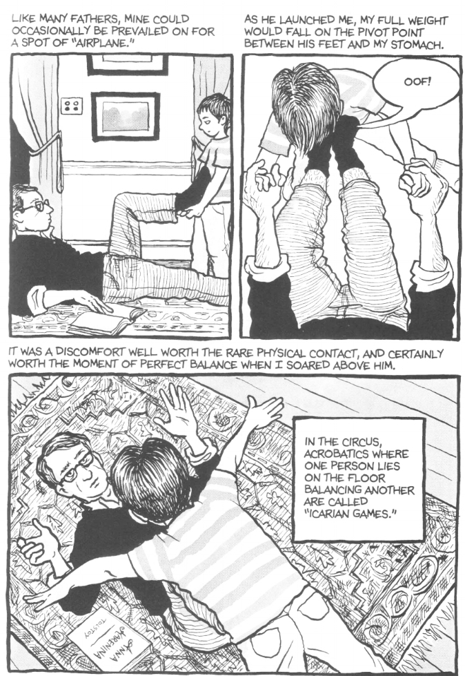 image © Alison Bechdel and Houghton Mifflin Harcourt, 2006.