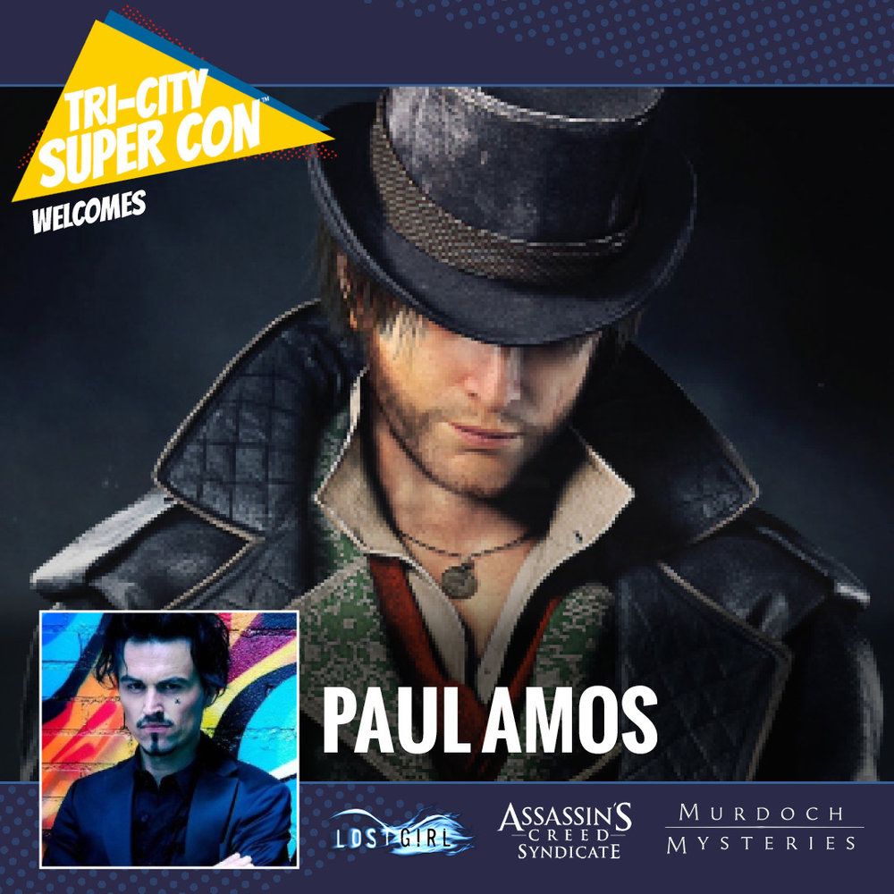 Paul is an actor from Wales, UK. After leaving LAMDA he went to work with several prestigious theatre companies including the Royal Shakespeare Company and the National Theatre. He's best known for his work on Murdoch Mysteries, Lost Girl and the hit video game, Assassin's Creed: Syndication.
