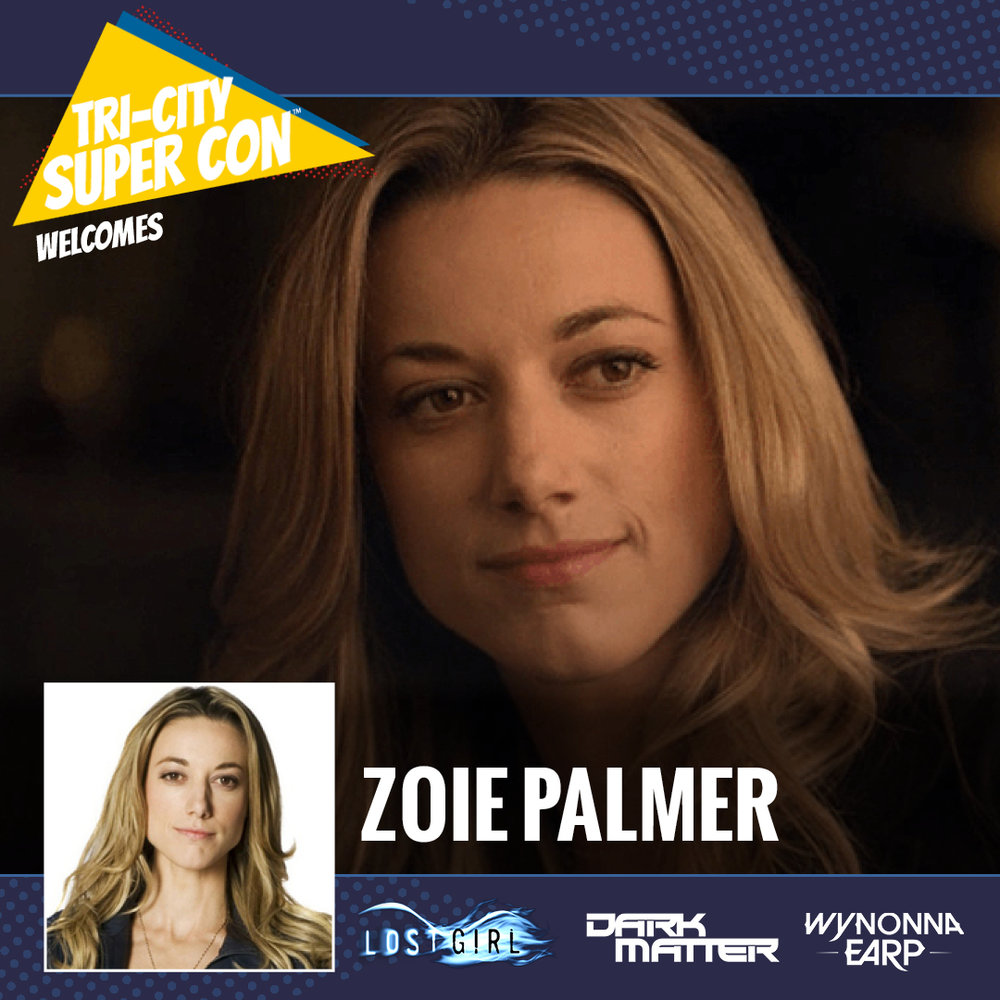 Zoie Palmer is an English-Canadian actress most notable for her role as Dr. Lauren Lewis in the Showcase supernatural drama Lost Girl and the Android in the SyFy science fiction series Dark Matter.