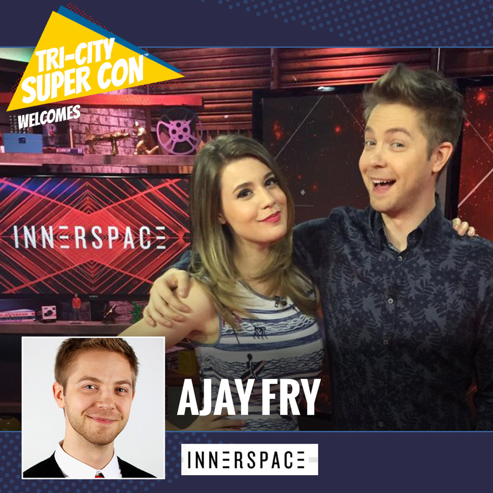 Ajay Fry is a Canadian comedian, television personality and producer who grew up in Ottawa, Ontario, best known as host on the official Orphan Black after show After the Black on BBC America, and the Canadian daily entertainment talk show InnerSpace on Space.