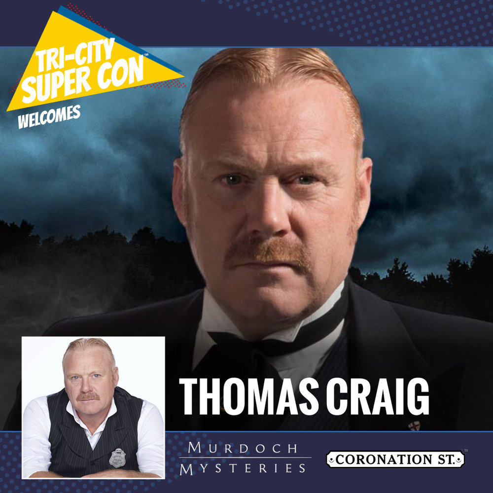 Craig was originally a plumber before making the move into acting in the 1980s. Craig appeared in EastEnders, Cadfael and is currently starring as Inspector Brackenreid in the Canadian show Murdoch Mysteries.