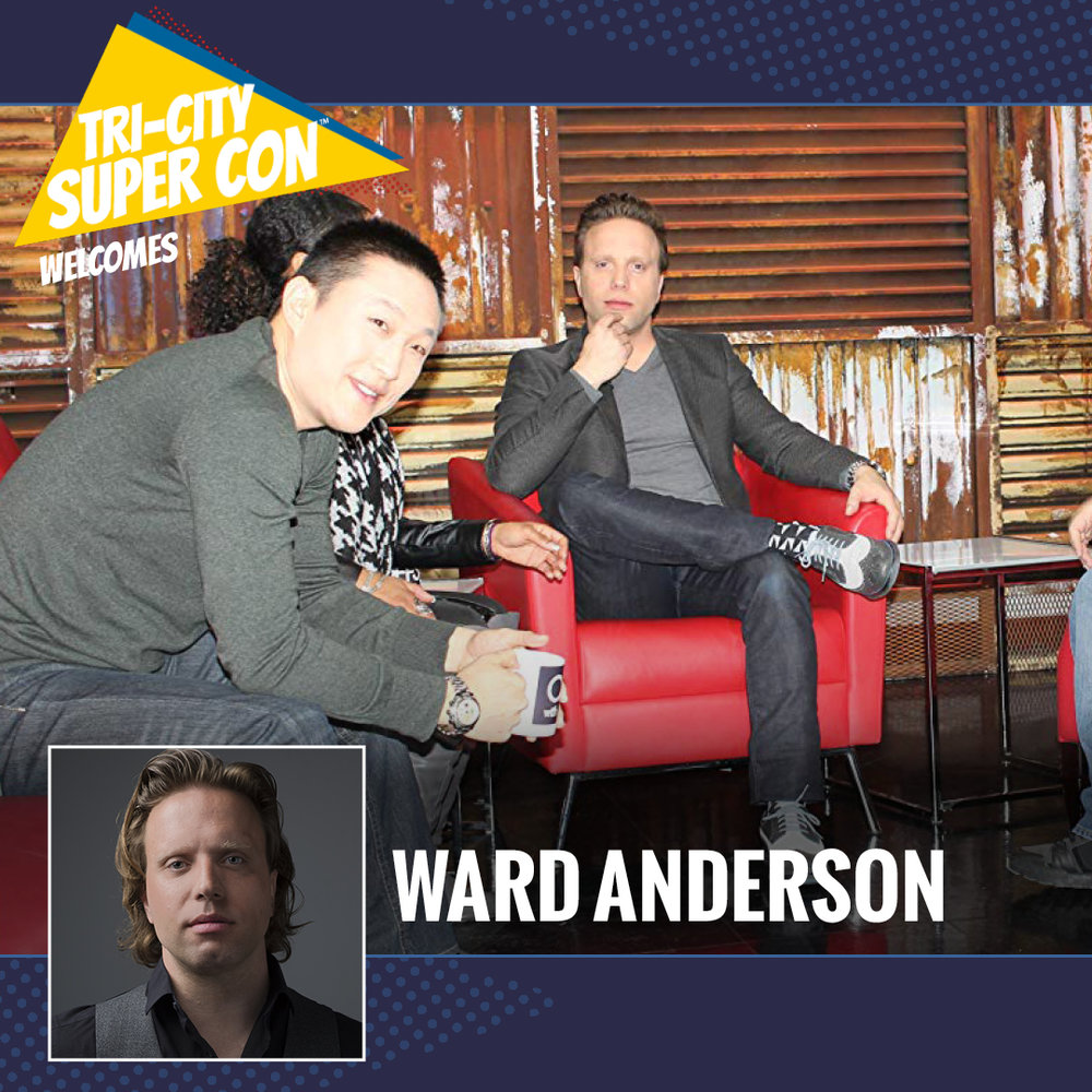 Ward Anderson is a writer and producer, known for Ward Anderson: Kind of, Sort of, Grown-Up (2017), Offstage with Ward Anderson (2017) and The Adventures of Napkin Man! (2013).