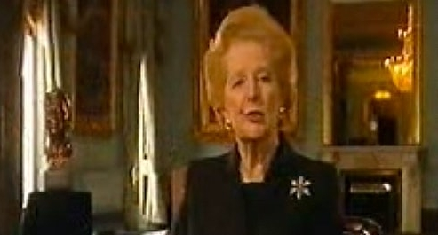 Margaret Thatcher's Eulogy for Ronald Reagan was also filmed in the Nash