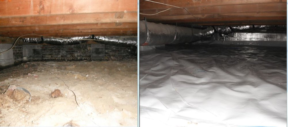 Crawl space Before and after #2.JPG
