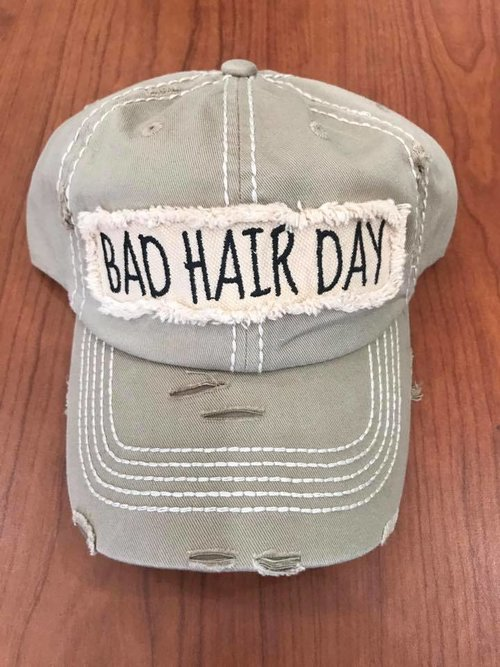 984f6297 Bad hair Day (Dad Hat) — Zoo Crew Apparel