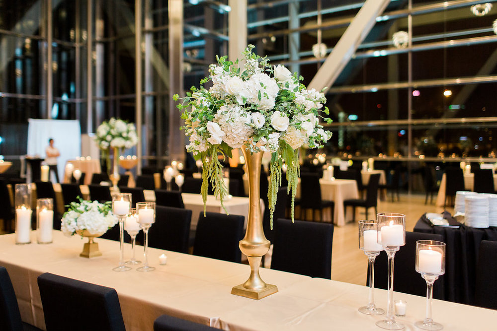 Architectural Elegance: Real Wedding