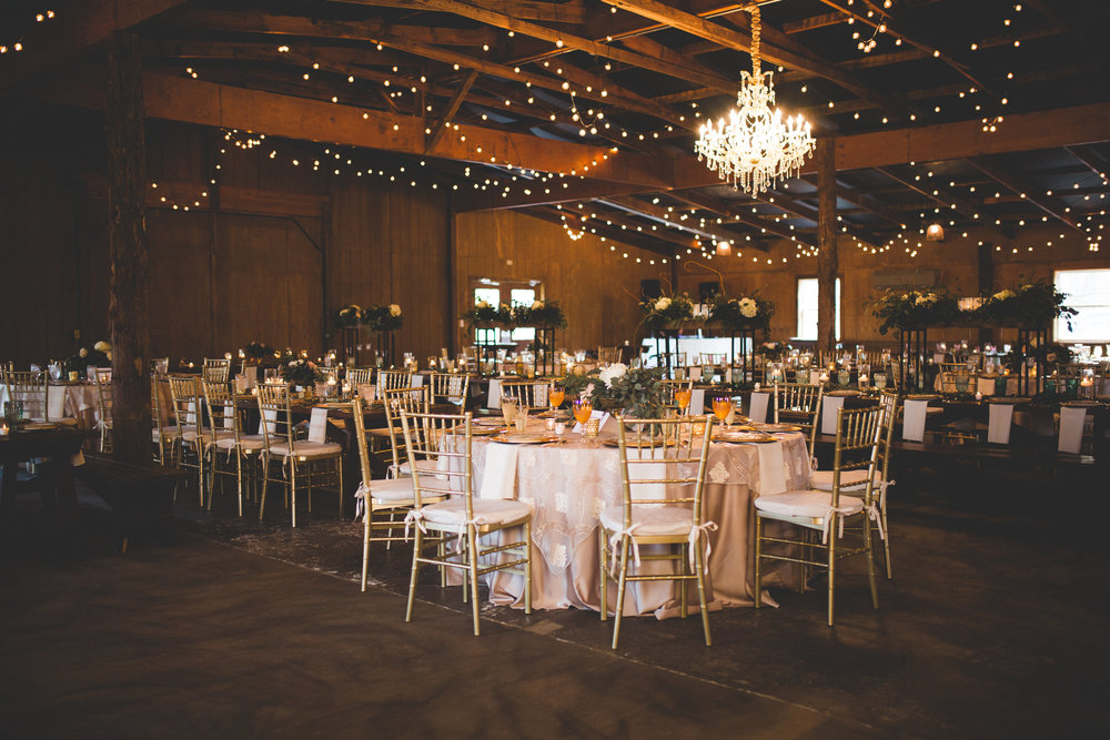 Rustic Dazzle: Real Wedding