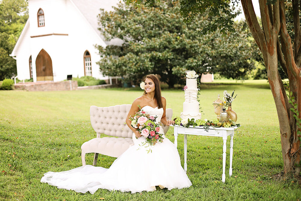 Southern Belle Wedding Inspiration