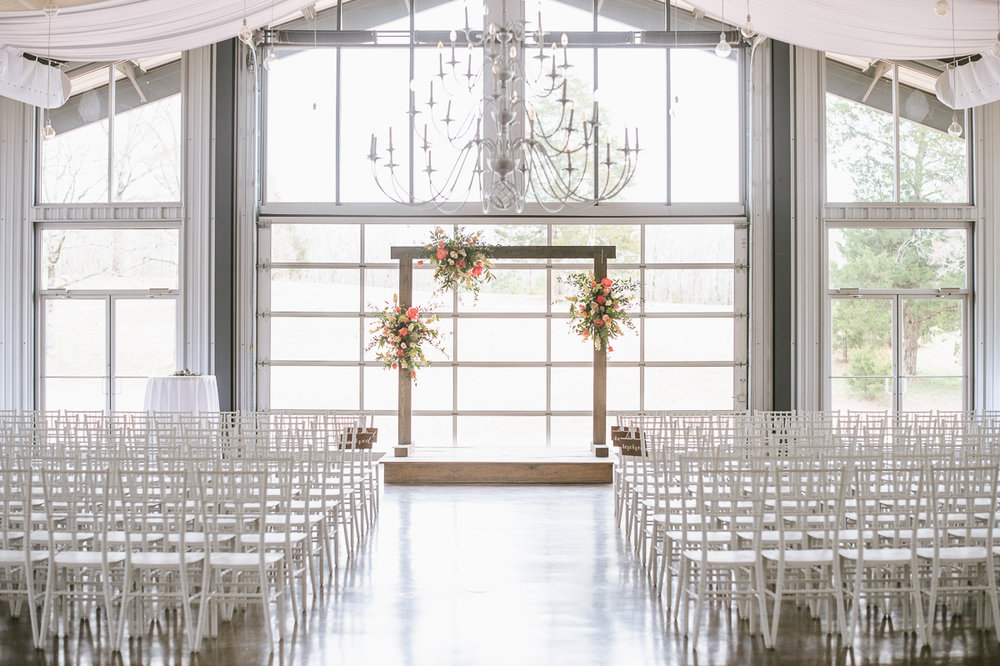 Swank Greenery Style: Real Wedding