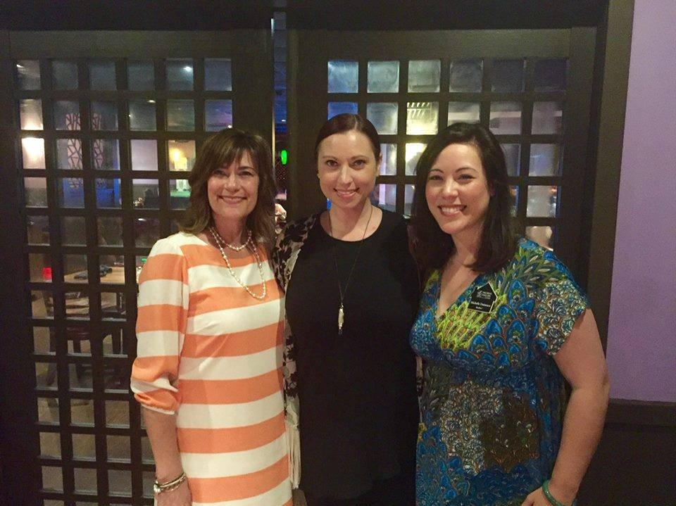 Cabot Women in Networking Luncheon with Women In Networking Founder, Holly Fish, Director, Meredith Corning and Michelle Dutacasa.
