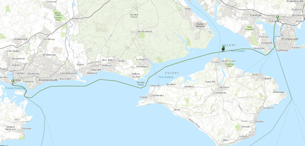 Leg 7: Poole Harbour back to Port Solent