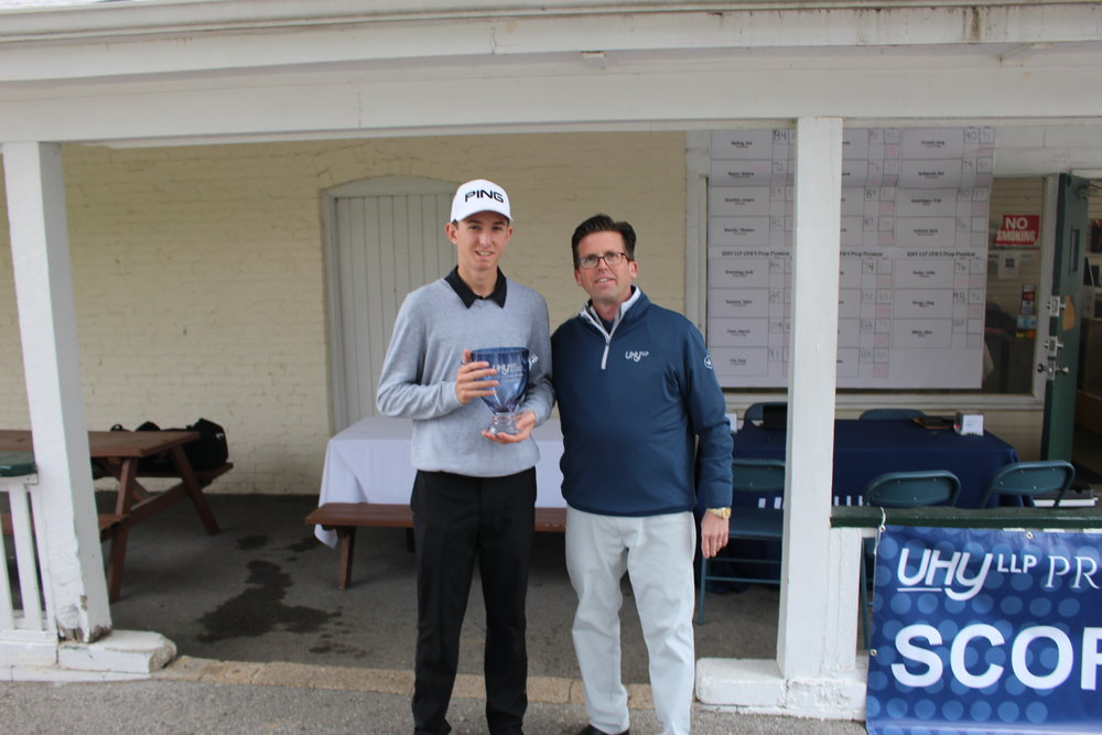 The inaugural UHY LLP Prep Series Event was conducted April 20 - 21, 2018 at Normandie Golf Club. Alton Marquette's Kolten Bauer was the champion, shooting 72-77 for a 7 over par total of 149.