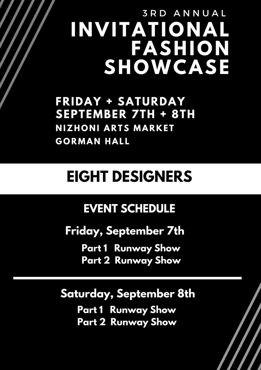 3rd Annual Invational Fashion Showcase Navajo Nation