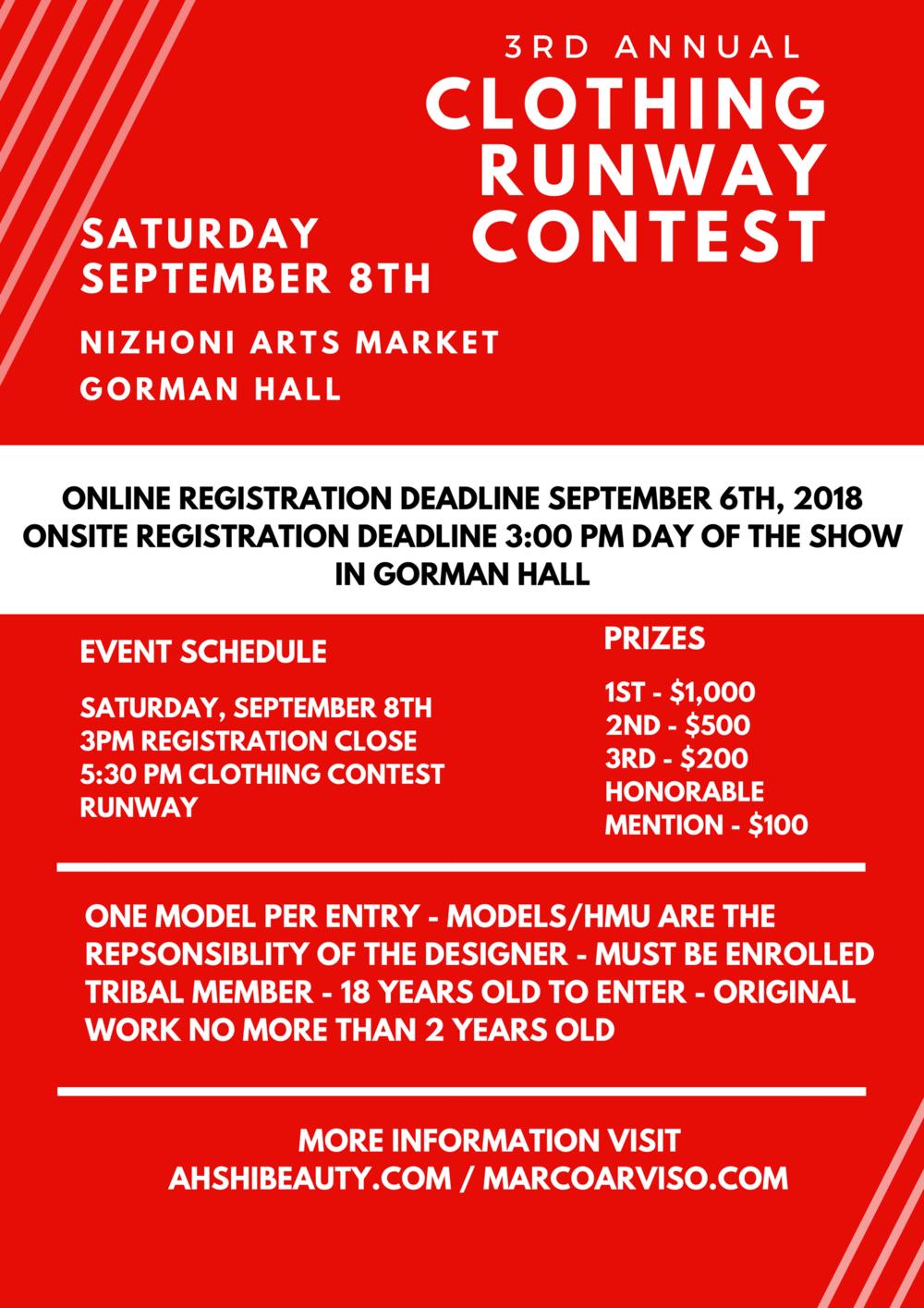 3rd Annual Clothing Contest - navajo Nation Fashion Showcase