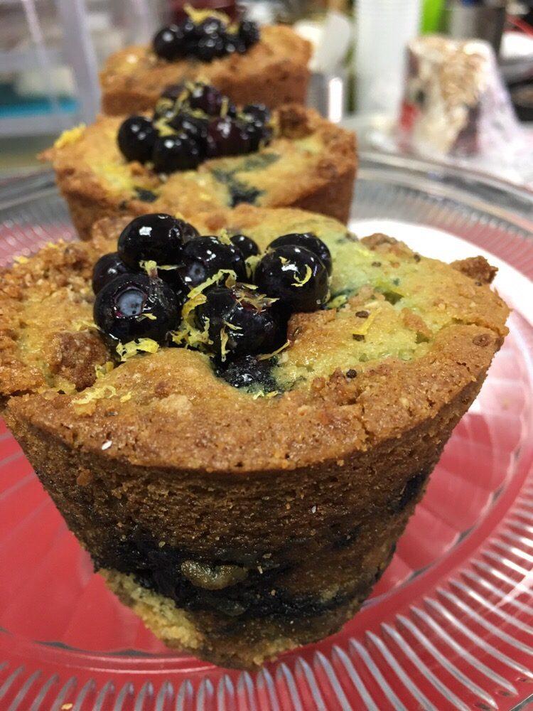 Blueberry filled Blueberry Lemon Muffin.jpg
