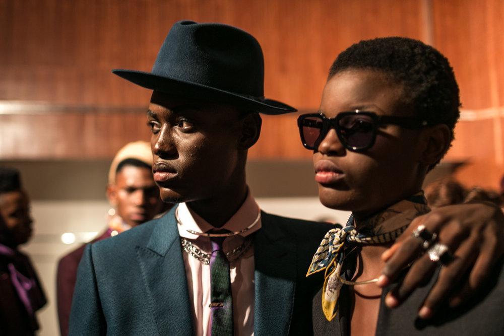 From 'Arise Fashion Show, Lagos' by Leke Alabi-Isama (Nigeria)