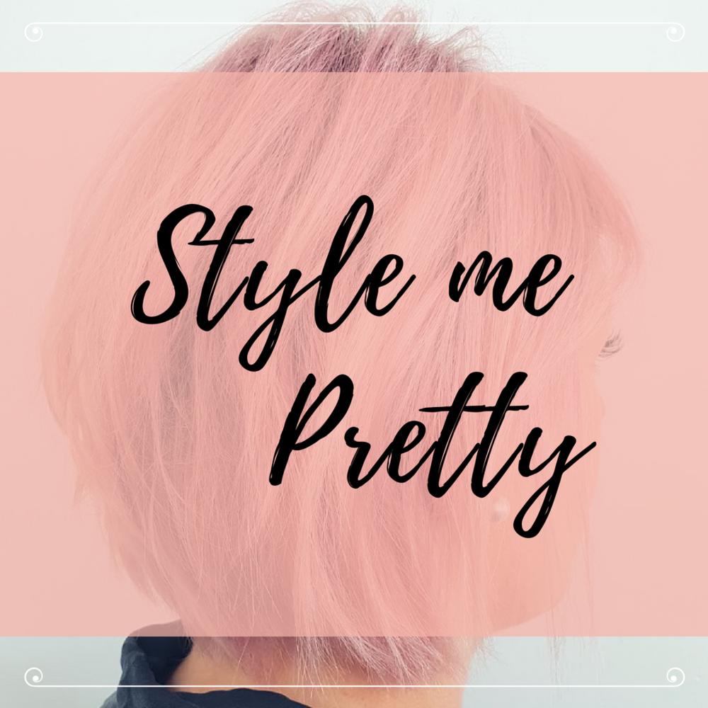 pink short hair style - choppy bob - cutting specialists