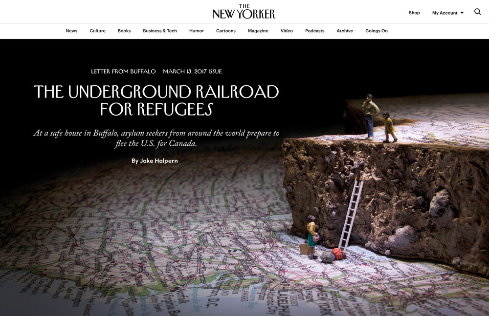 The Underground Railroad on The New Yorker