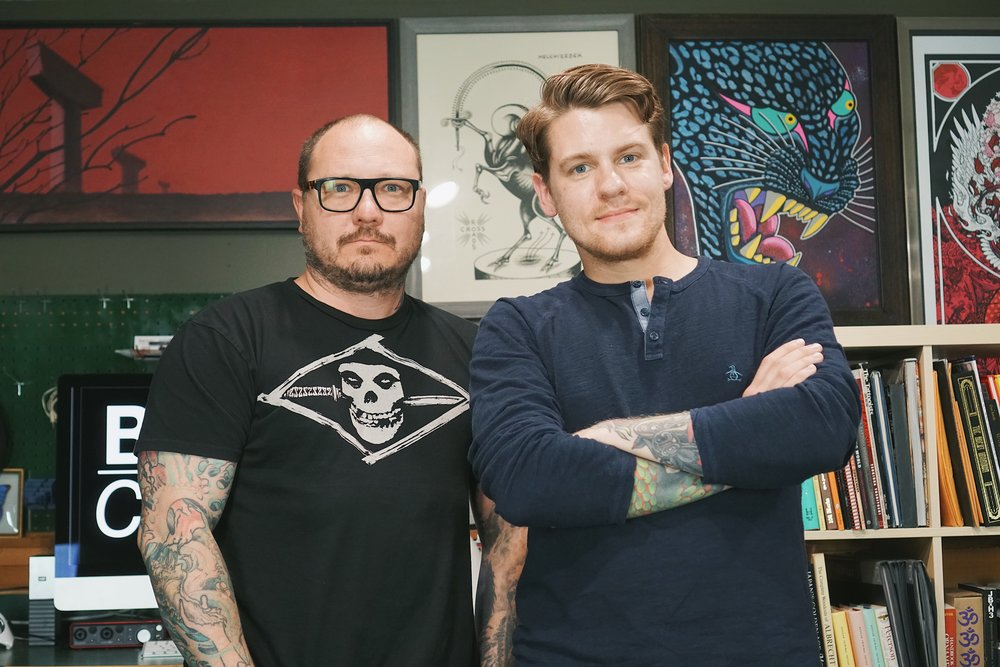 EP 002 - Tattoo artist Todd Noble (@noble1) sits in on the show and talks social networks, Everence, and plays a game.SPONSORS:Lucky SupplyRiver Valley Printing Co