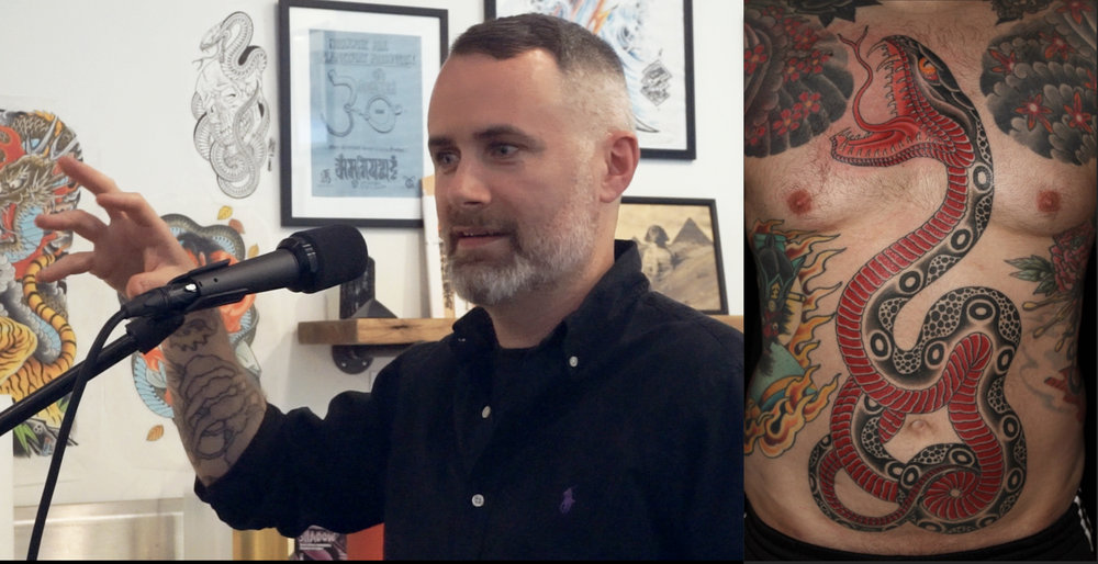 EP 003 - Tattoo artist Chris O'Donnell (@codonnell_nyc) sits down and discusses early social media, his drawing process, what originally attracted him to start tattooing in 1993 and how he is creating his own work space with that same energy.SPONSORS:Lucky SupplyRiver Valley Printing Co