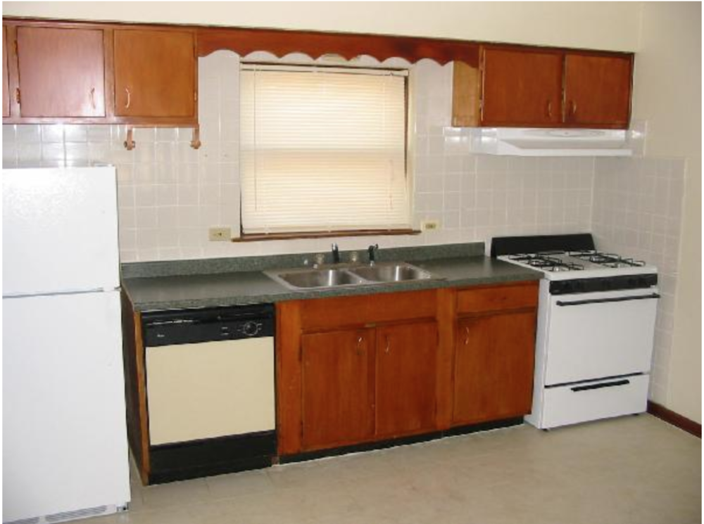 Kitchen (dishwashers not in all)