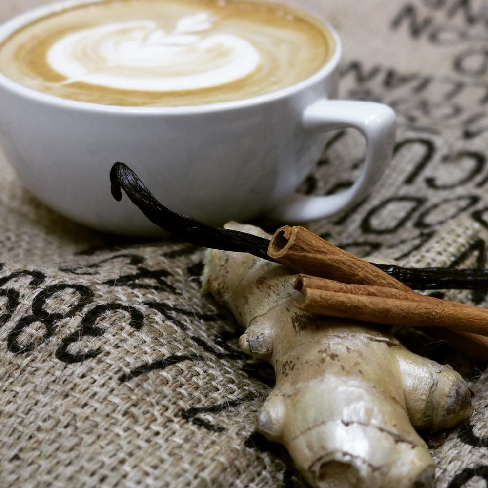 Make your Fall Spice Latte with Oat Milk - Creamy, delicious, dairy-free