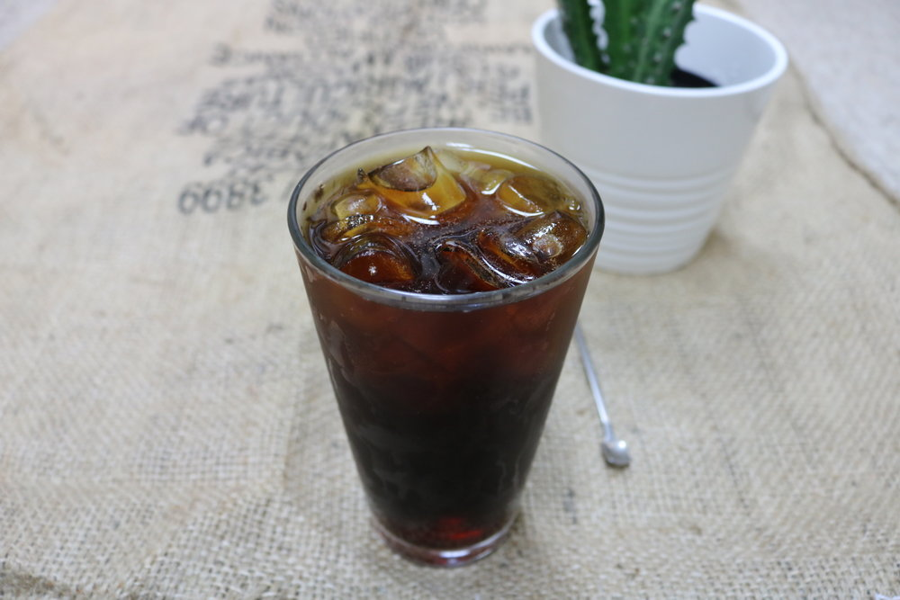 Enjoy Cold Drinks all year round - The Sweater Weather Cold Brew has orange and cloves