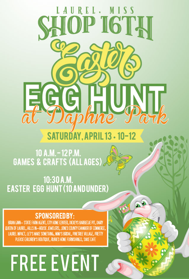 Shop 16th Easter Egg Hunt