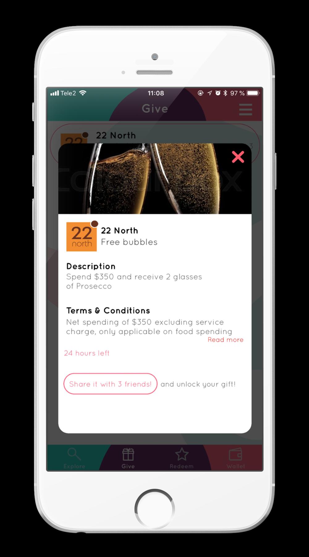 iPhone6 App Mockup Gift Redeem.png
