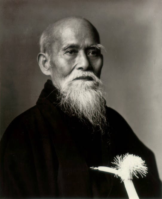 Morihei Ueshiba O'Sensei (1883 – 1969)