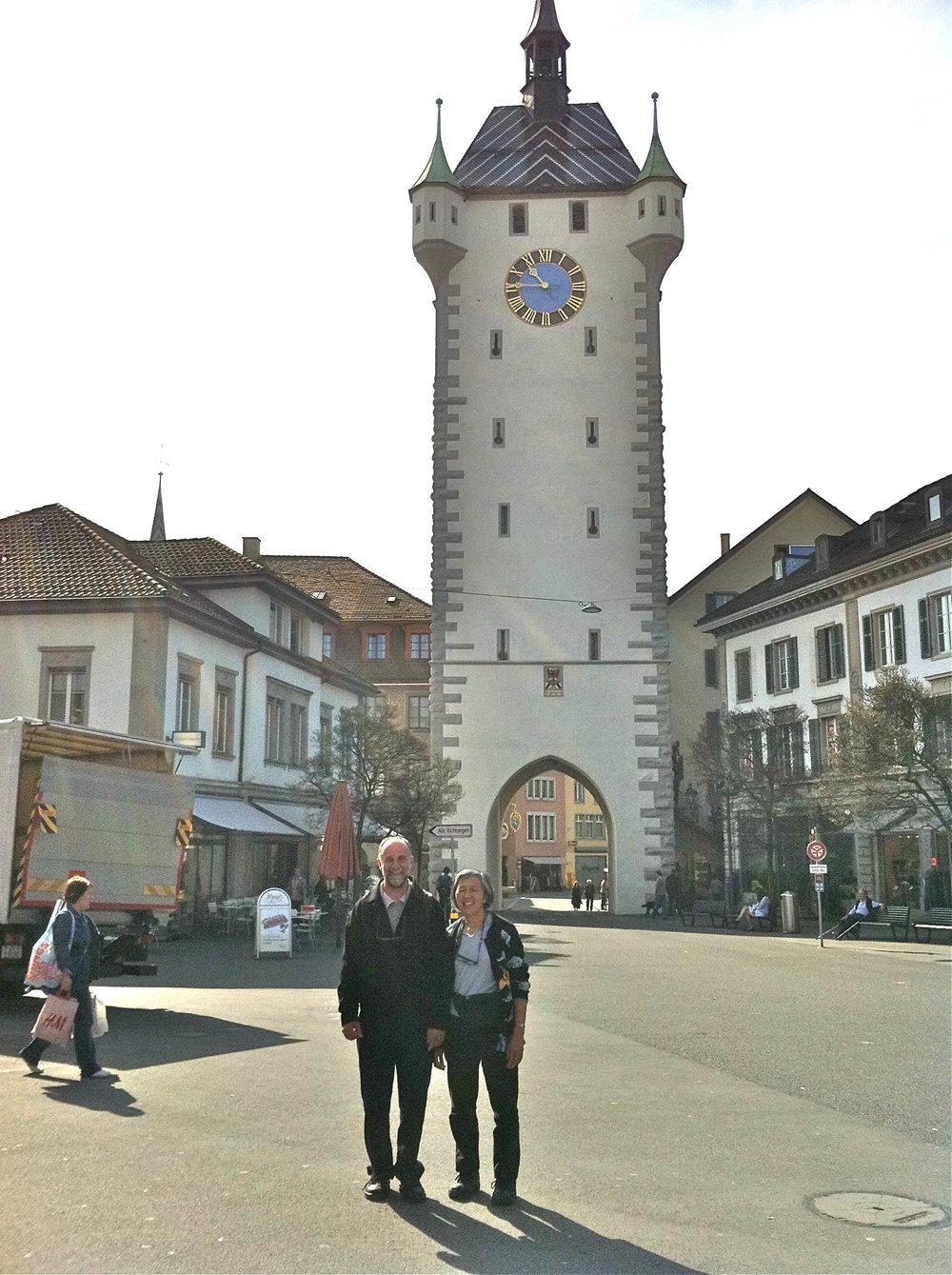 Ben & I Ennetbaden town.jpg