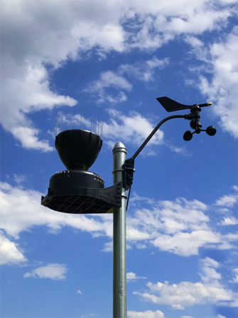 On Site Weather Station - updates every 3 seconds -