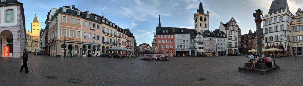 Trier, Germany's Hauptmarkt (Main Market)