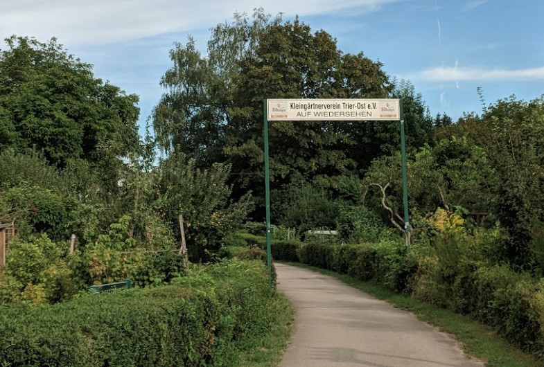 Kleingärtnerverein  is a community garden in Trier.