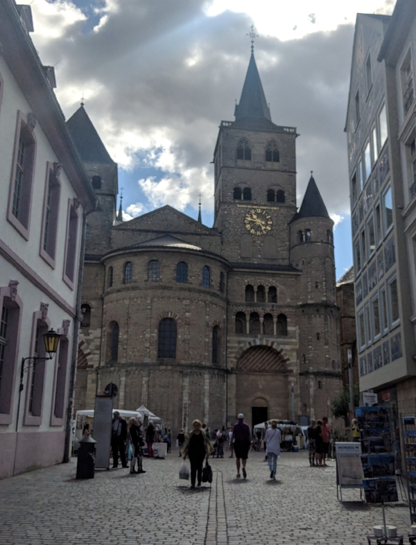 Trier's Dom (Cathedral) dates back to the fourth century, but most of the current building was finished around 1235 AD.