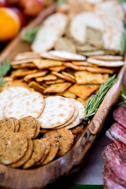 Cracker platter