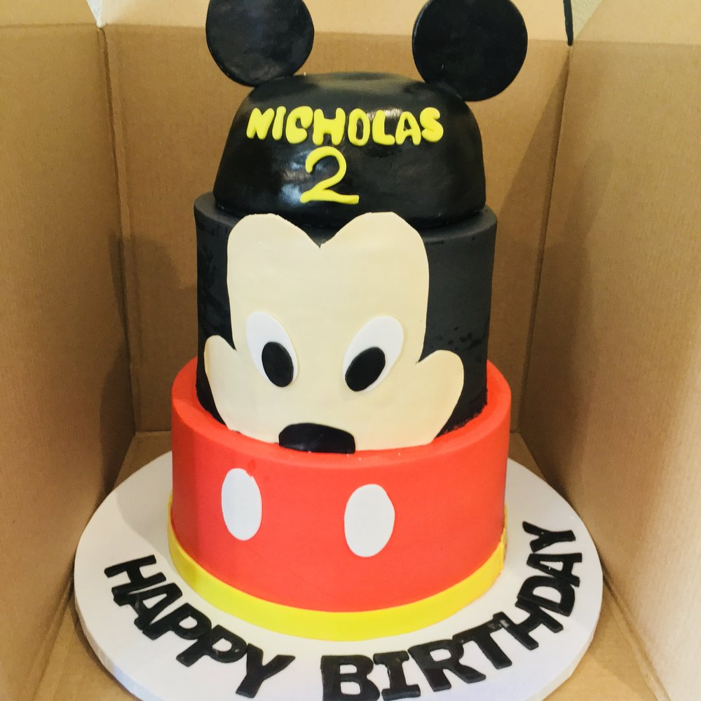 Mickey Mouse Birthday Cake - Mwokaji CAkery.jpg
