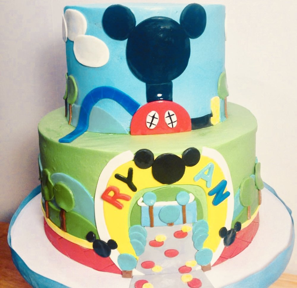 Mickey's Playhouse Birthday Cake - Mwokaji Cakery.jpg