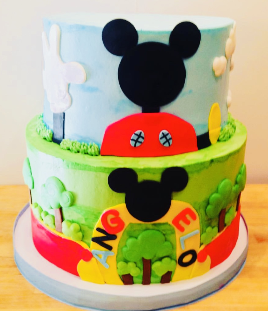Mickey's Playhouse Birthday Cake - Mwokaji Cakery .jpg